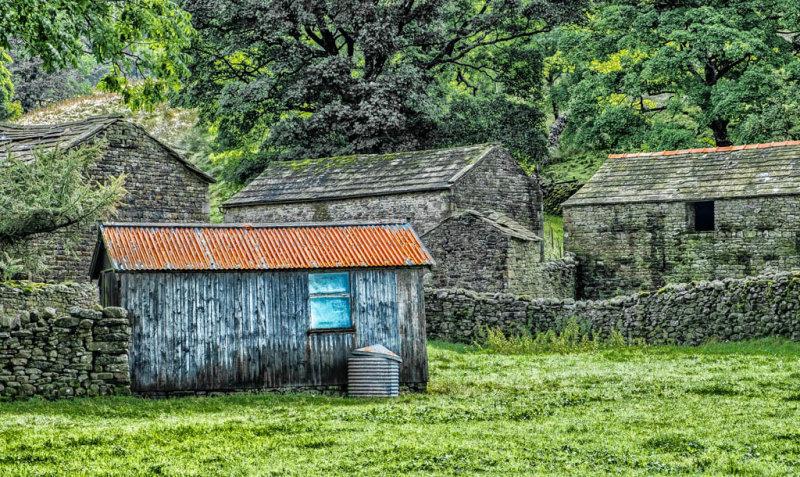 Shed amongst the Barns.