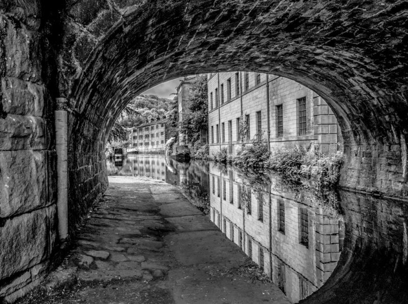 Under the Bridge,  Hebden Bridge.