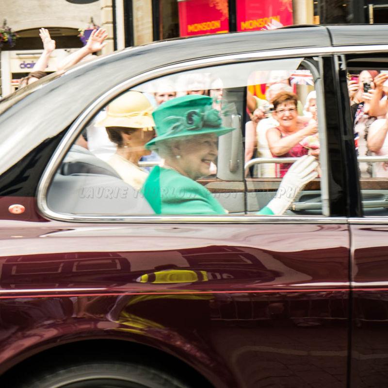 Her Majesty visits Kendal 17/07/2013