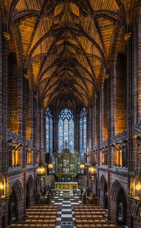 Lady Chapel, Anglican Cathedral Liverpool.
