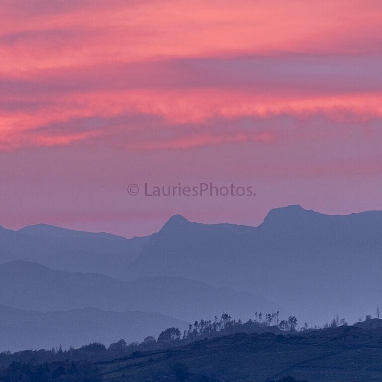 Langdale Sunset.