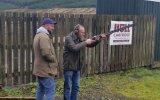 Coaching with Ben Lazy dog shooting