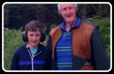 Pat lynch and grandson Lazy dog shooting