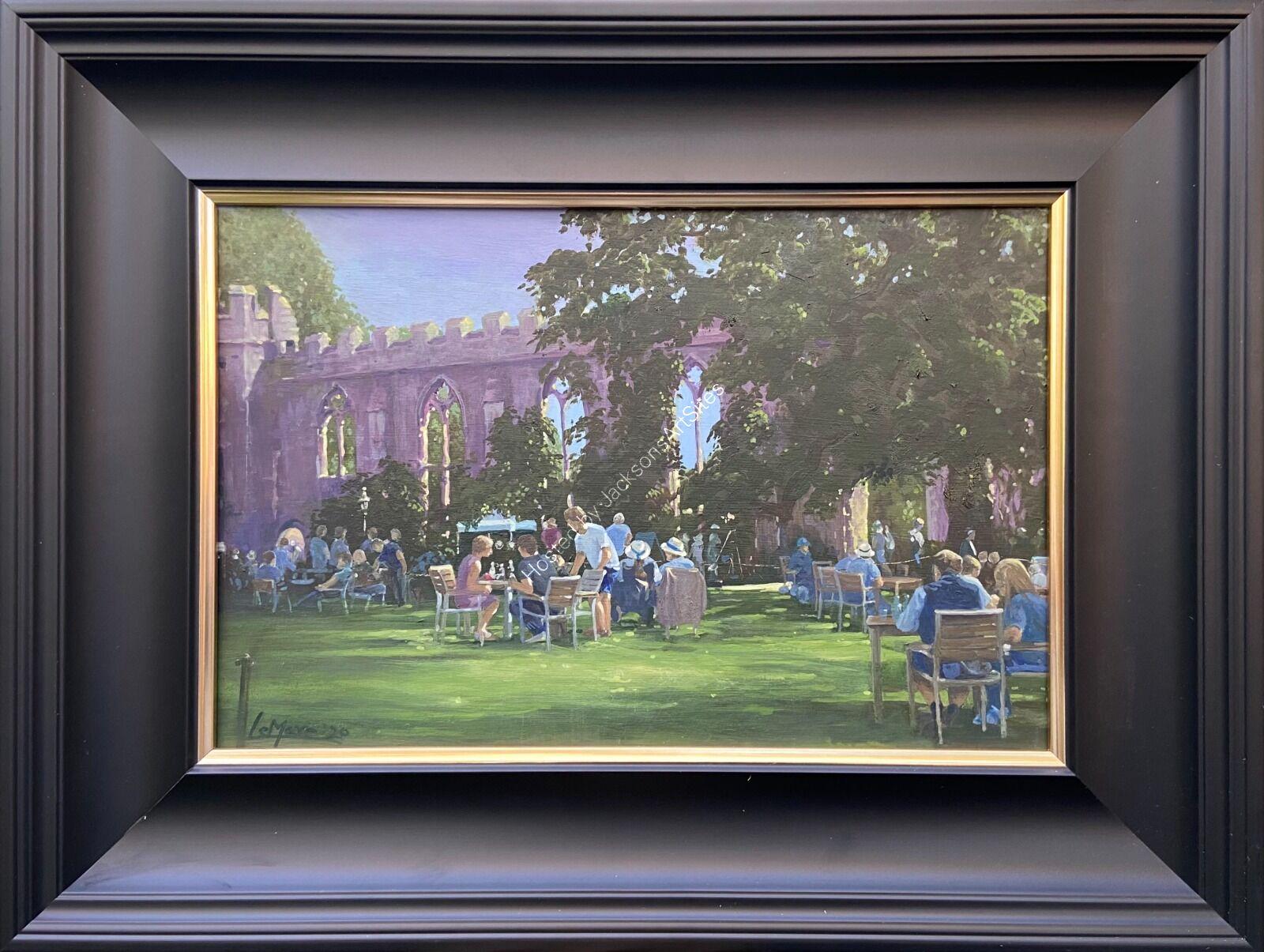 Bishops Palace, Wells. Rare plant fair, summer 2020