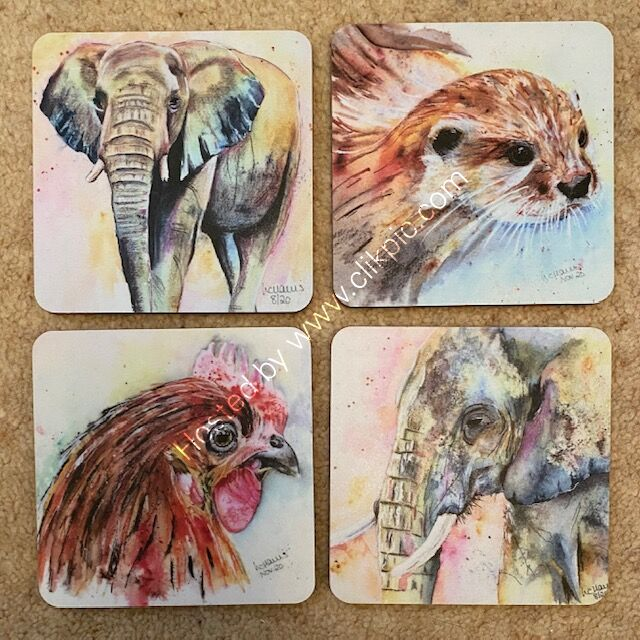 Any 4 coasters for £12!!