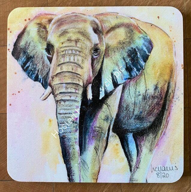 Single Elephant 1 coaster £4
