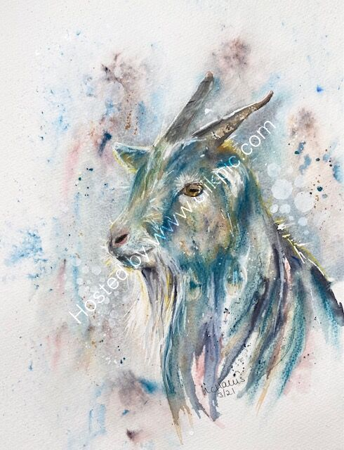Dreamy Goat - SOLD -