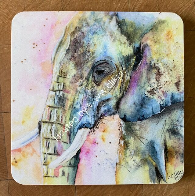 Single Matriarch of the Herd coaster £4