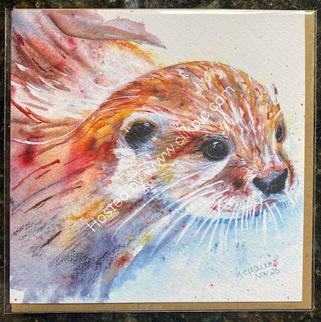 Otterly Amazing card