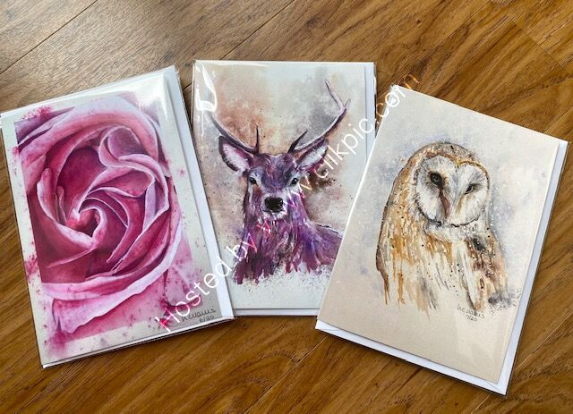 Choose any three cards for £8.00