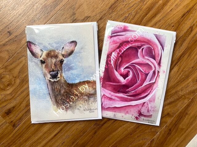 Choose any two cards for £5.50