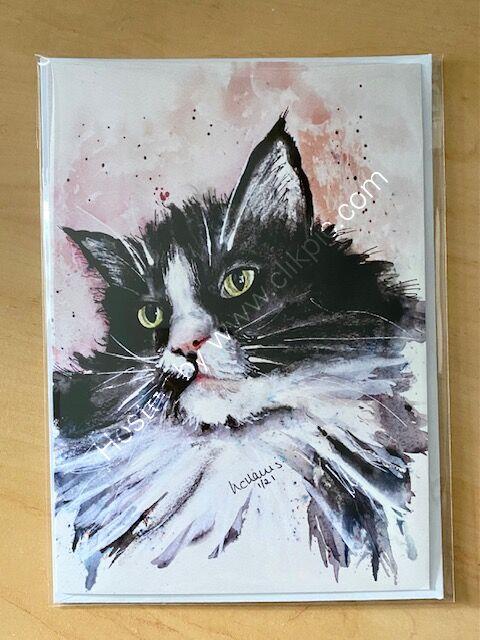 Meow-vellous card