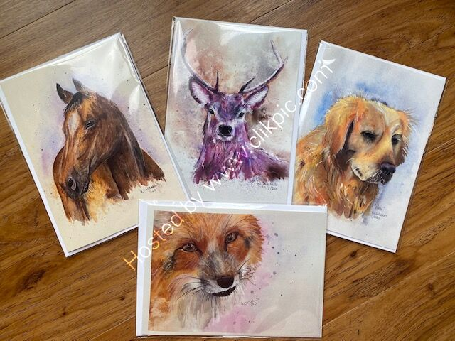 Choose any 4 cards for £10.00