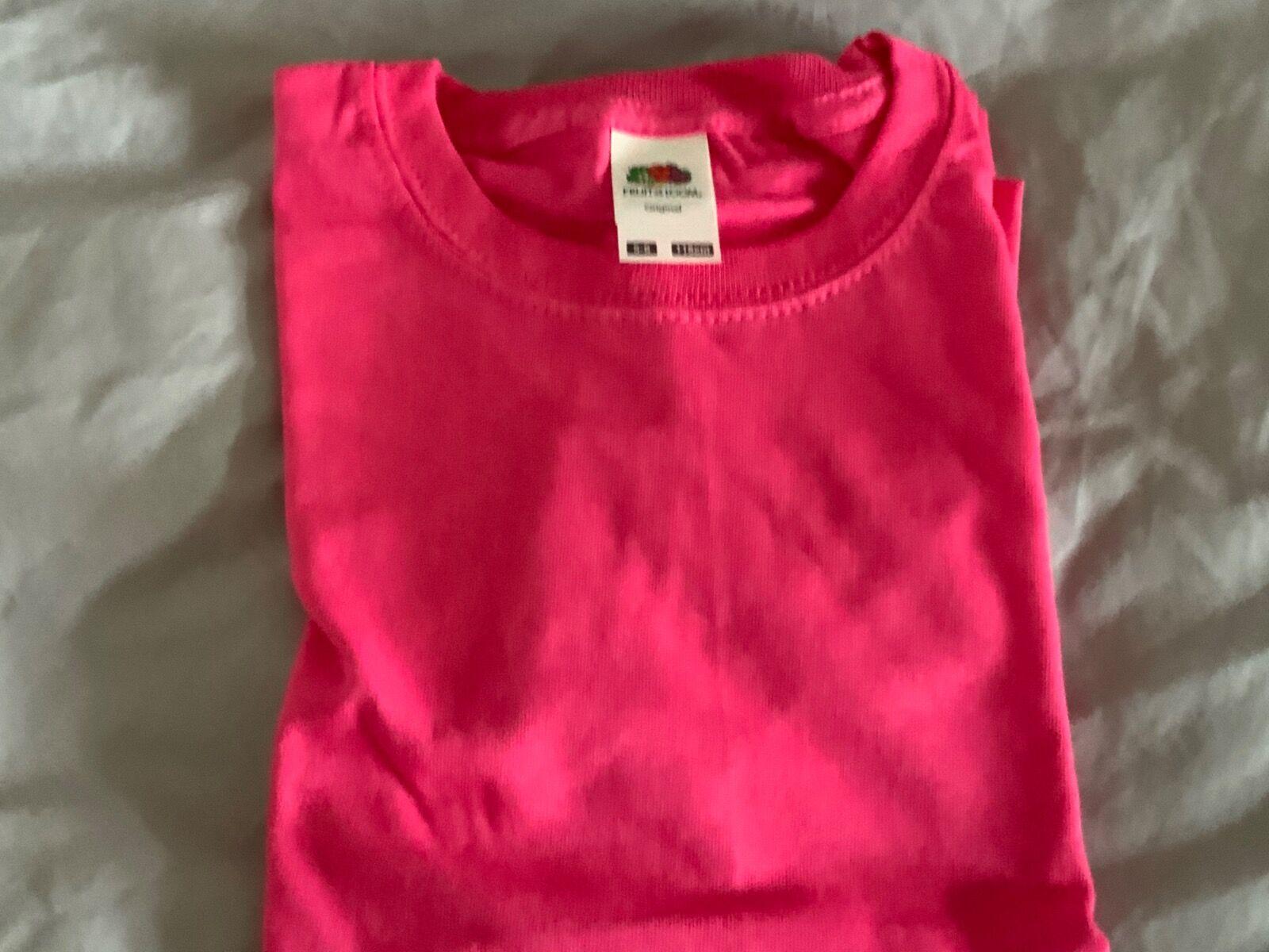 Fuchsia t-shirt 5/6