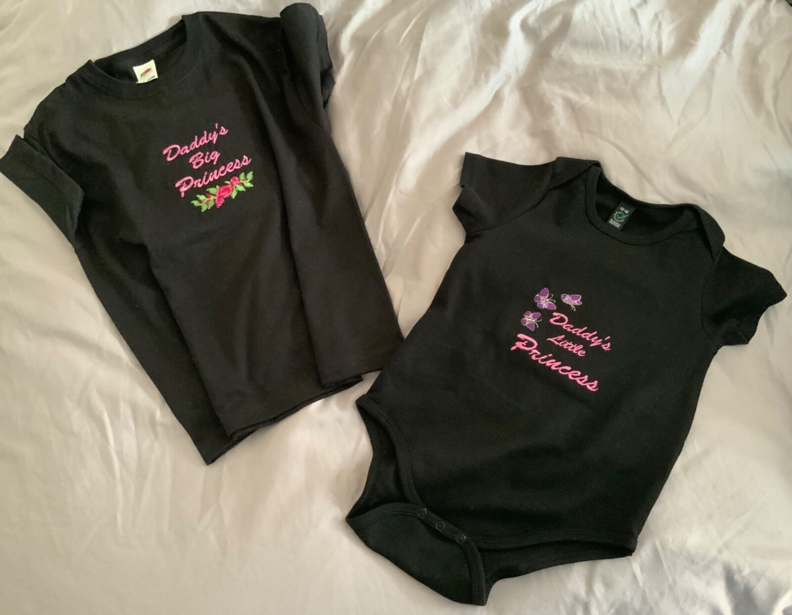 Babygrow t-shirt black