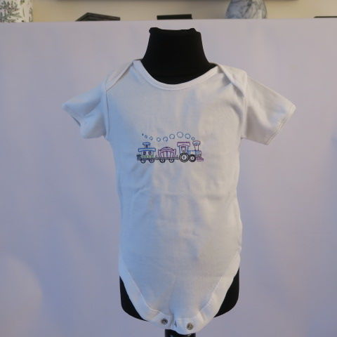 Baby Grow with Train Design