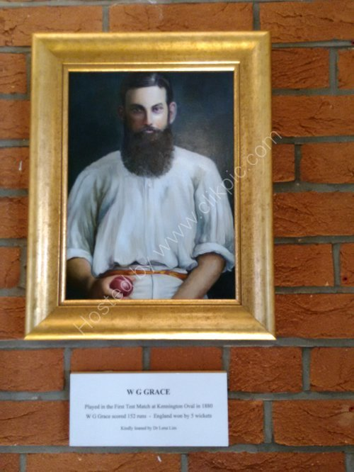 """WG Grace"" at The Kia Oval Cricket Ground_1"
