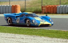 008 Mike Donovan Lola T70 Mk3B FIA Masters Historic Sports Cars Espiritu de Montjuic Circuit de Barcelona - Catalunya small