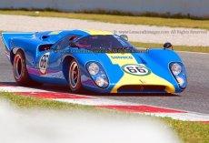 009 Mike Donovan Lola T70 Mk3B FIA MAsters Historic Sports Cars Espiritu de Montjuic Circuit de Barcelona - Catalunya small