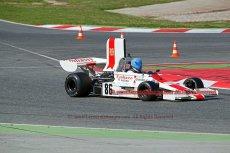 028 Jamie Constable Lola Embassy FIA Masters Historic Formula One Espiritu de Montjuic Circuit de Catalunya small