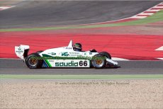 029 Tommy Dreelan Williams FW08 FIA Masters Historic Formula One Espiritu de Montjuic Circuit de Barcelona Catalunya small