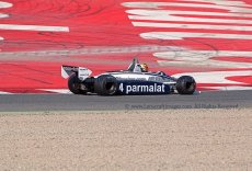 030 Joaquin Folch-Rusinol Brabham BT49C FIA Masters Historic Formula One Espiritu de Montjuic Circuit de Barcelona Catalunya small