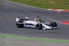 036 Joaquin Folch-Rusinol Brabham BT49C FIA Masters Historic Formula One Espiritu de Montjuic Circuit de Barcelona Catalunya small
