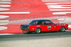 045 Oliver Hart & Nicky Pastorelli Ford Mustang FIA Lasters Pre 66 Touring Cars Espiritu de Montjuic Circuit de Barcelona Catalunya small