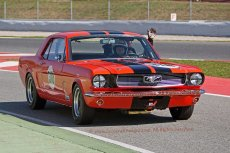 046 Chris Beighton Ford Mustang FIA Msters Pre 66 Touring Cars Espiritu de Jarama Circuit de Barcelona Catalunya small