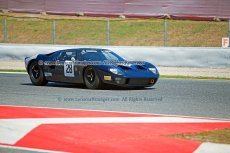 049 Joaquin Folch-Rusinol & Simon Hadfield Ford GT40 FIA Masters Historic Sports Cars Espiritu de Montjuic Circuit de Barcelona Catalunya small