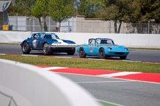 055 Michiel Campagne Chevrolet Corvette Grand Sport & Alexander Schluchter Lotus Elan NK HTGT Espiritu de Montjuic Circuit de Barcelona Catalunya small