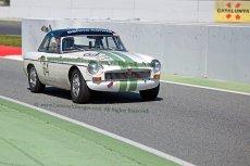 056 Egbert Kolvoort MGB NK HTGT Espiritu de Montjuic Circuit de Barcelona Catalunya small