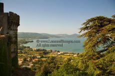 View over Lake Bracciano from Castello Orsini Odescalchi