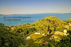 View over Lake Bracciano from Castello Orsini Odescalchi2