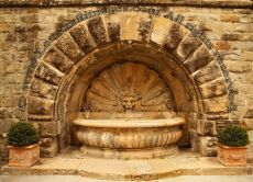 Fountain, Radda in Chianti