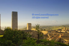 Early morning, San Gimignano2