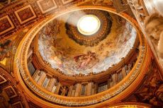 Cupola, St Peter's Basilica, Rome