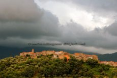 Stormy Skies, South Tuscany
