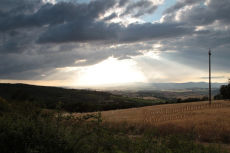 Light and Cloud, South Tuscany