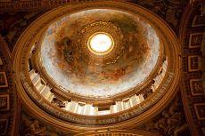 Inside St Peter's Basilica, Rome