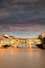 Ponte Vecchio at dusk, Florence