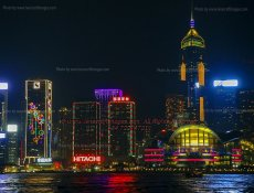 9 Victoria Harbour Illuminations III Hong Kong