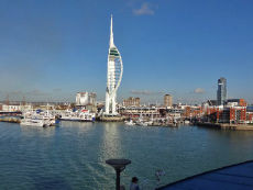 Setting Sail from Portsmouth