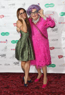 Mel C and Dame Edna