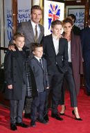 David Beckham, Victoria Beckham and family