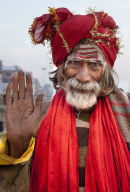 Chap with the Red Scarf (India)