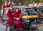 Monks in the Tuk-tuk