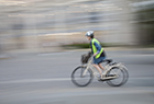 Panning Cyclist 2