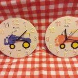 Tractor clocks
