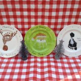 Christmas plates - £12.00 (for one)